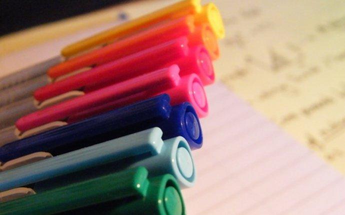 Чем перманентный маркер отличается от обычного :: перманентный