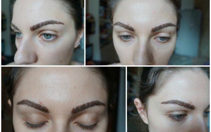 Фото корочек перманентного макияжа бровей