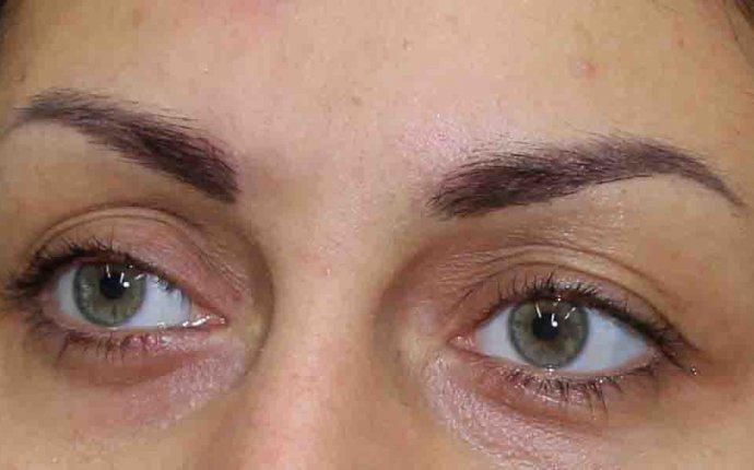 Перманетный макияж бровей в Тюмени, татуаж бровей