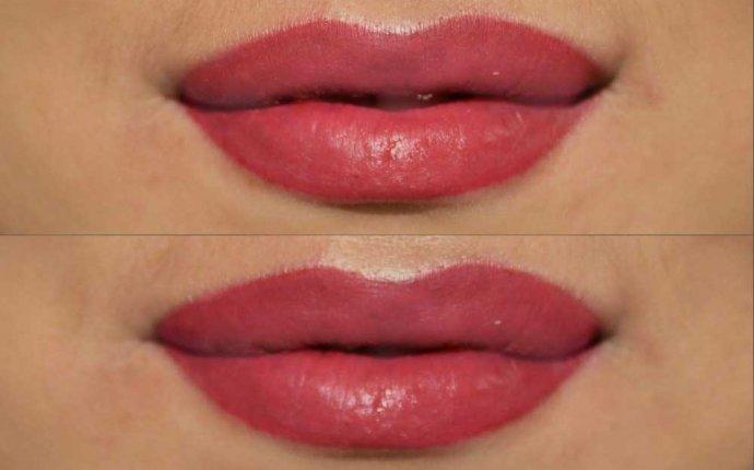 Татуаж губ фото до и после (+ 50 фото)