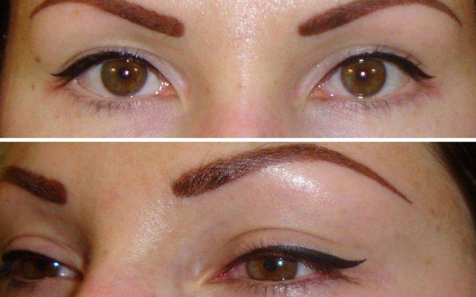 Все о татуаже глаз: фото век до и после, отзывы, рекомендации и